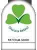 National (White) badge